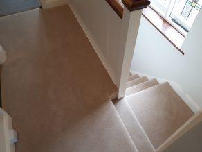 Natural 80 20 twist pile carpet
