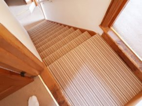 stripey wool carpets