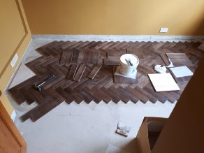 v4 wood block flooring fitting