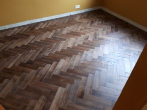 v4 herringbone wood block flooring