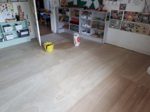 Class Room - 6mm ply preparation